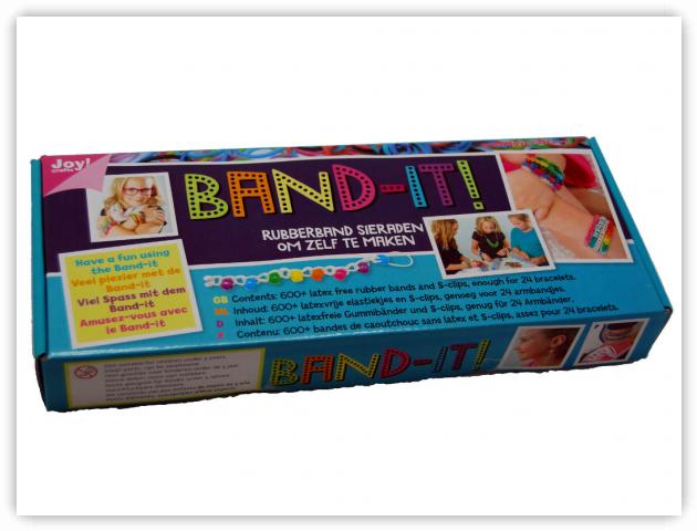 Rainbow Loom Patterns - Band-It