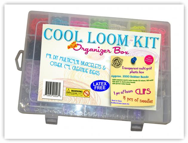 Rainbow Loom Patterns - Cool Loom Kit
