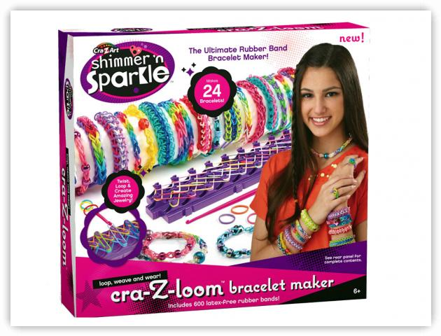 Rainbow Loom Patterns - Cra-Z-Loom or CrazyLoom