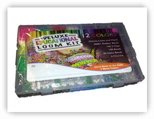 Rainbow Loom Patterns - Deluxe Educational Loom Kit loom-kits