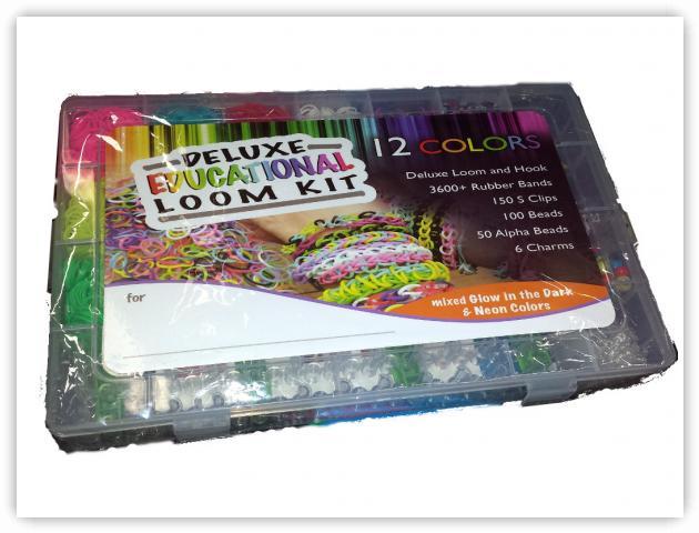 Rainbow Loom Patterns - Deluxe Educational Loom Kit