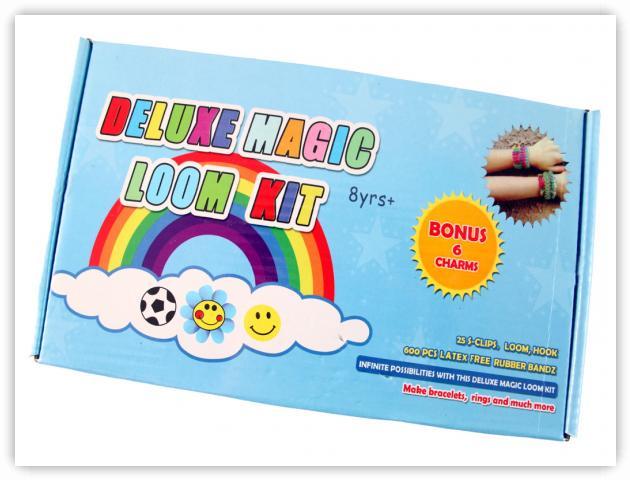 Rainbow Loom Patterns - Deluxe Magic Loom