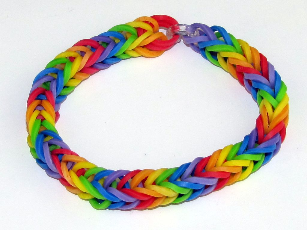 watch rainbow bracelet colored with a paracord buckle survival boredparacord youtube make