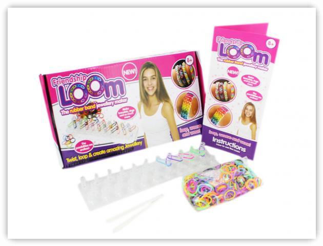 Rainbow Loom Patterns - Friendship Loom