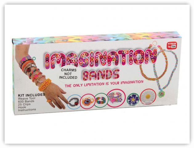 Rainbow Loom Patterns - Imagination Bands