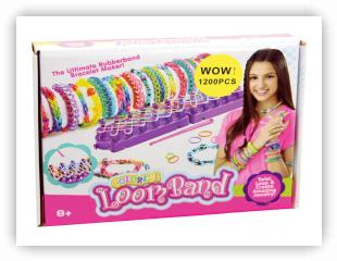 Rainbow Loom Patterns - Loom Bands loom-kits