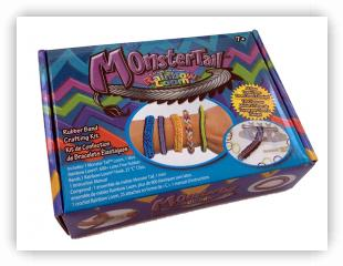 Rainbow Loom Patterns - Monster Tail loom-kits