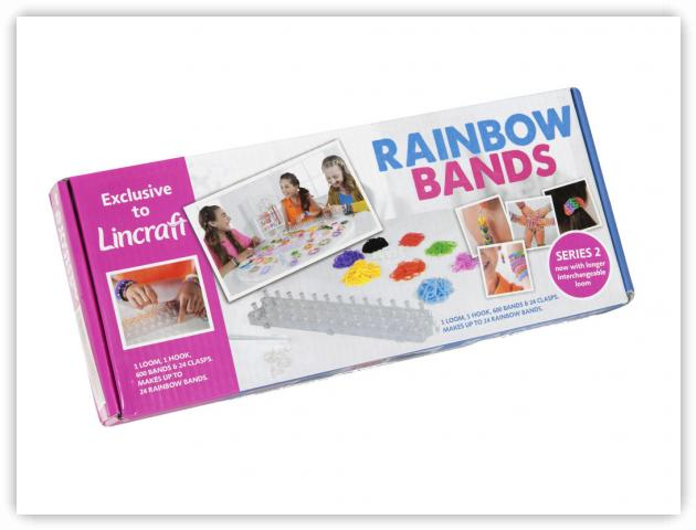 Rainbow Loom Patterns - Rainbow Bands