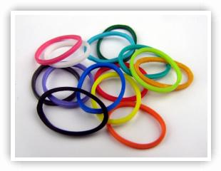 Elastic Bands Rubber Bands For Loom Jewelry Rainbow