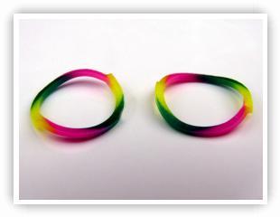 Rainbow Loom Tie Dye