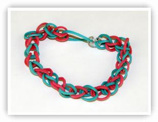 Rainbow Loom Patterns - Single bracelet