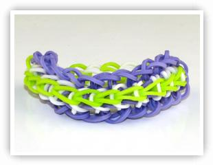 Rainbow Loom Patterns - Twisty Wisty bracelet
