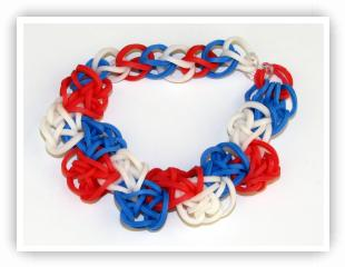 Rainbow Loom Patterns - Zig Zag bracelet